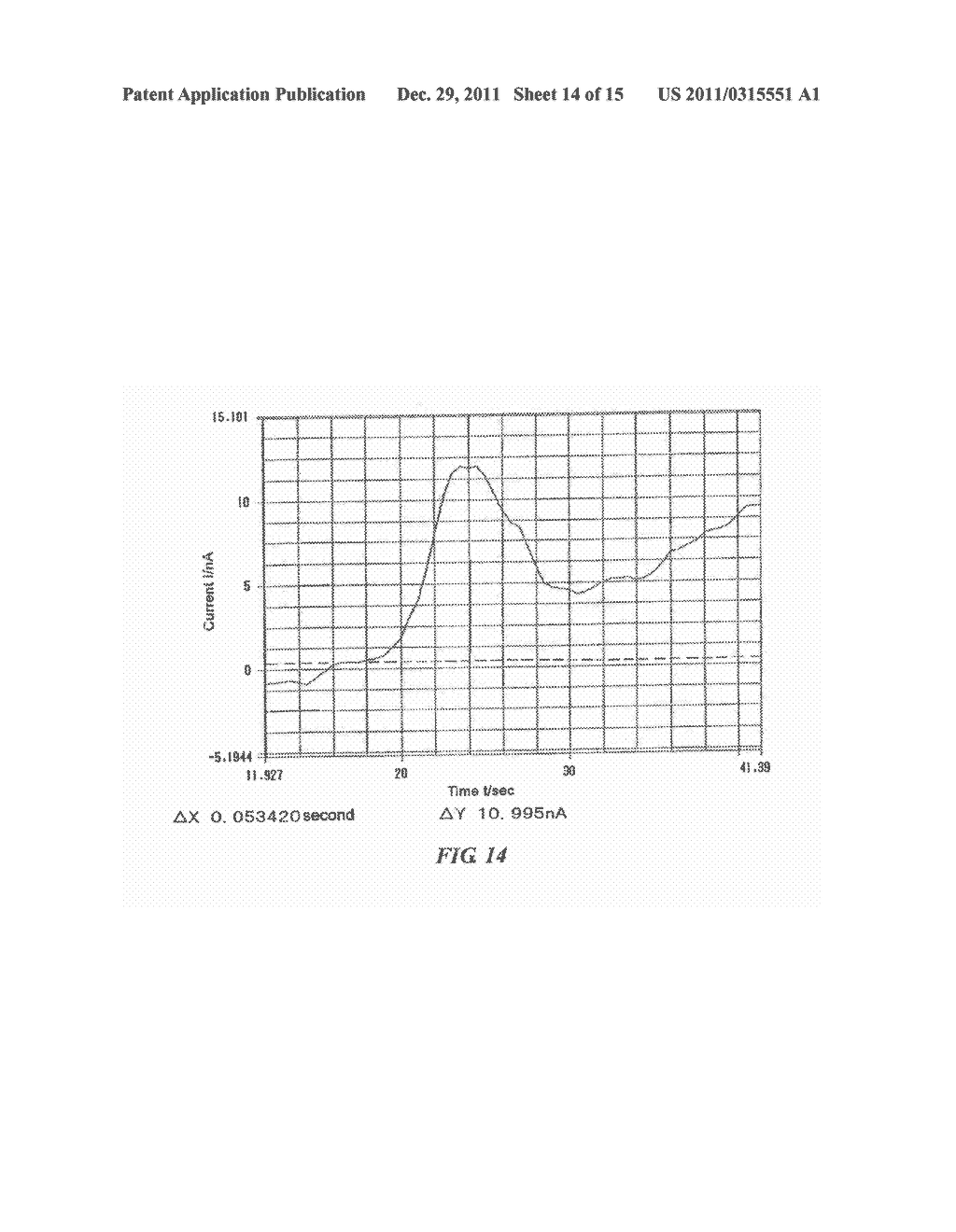 ELECTRODE FOR ACTIVE OXYGEN SPECIES AND SENSOR USING THE ELECTRODE - diagram, schematic, and image 15