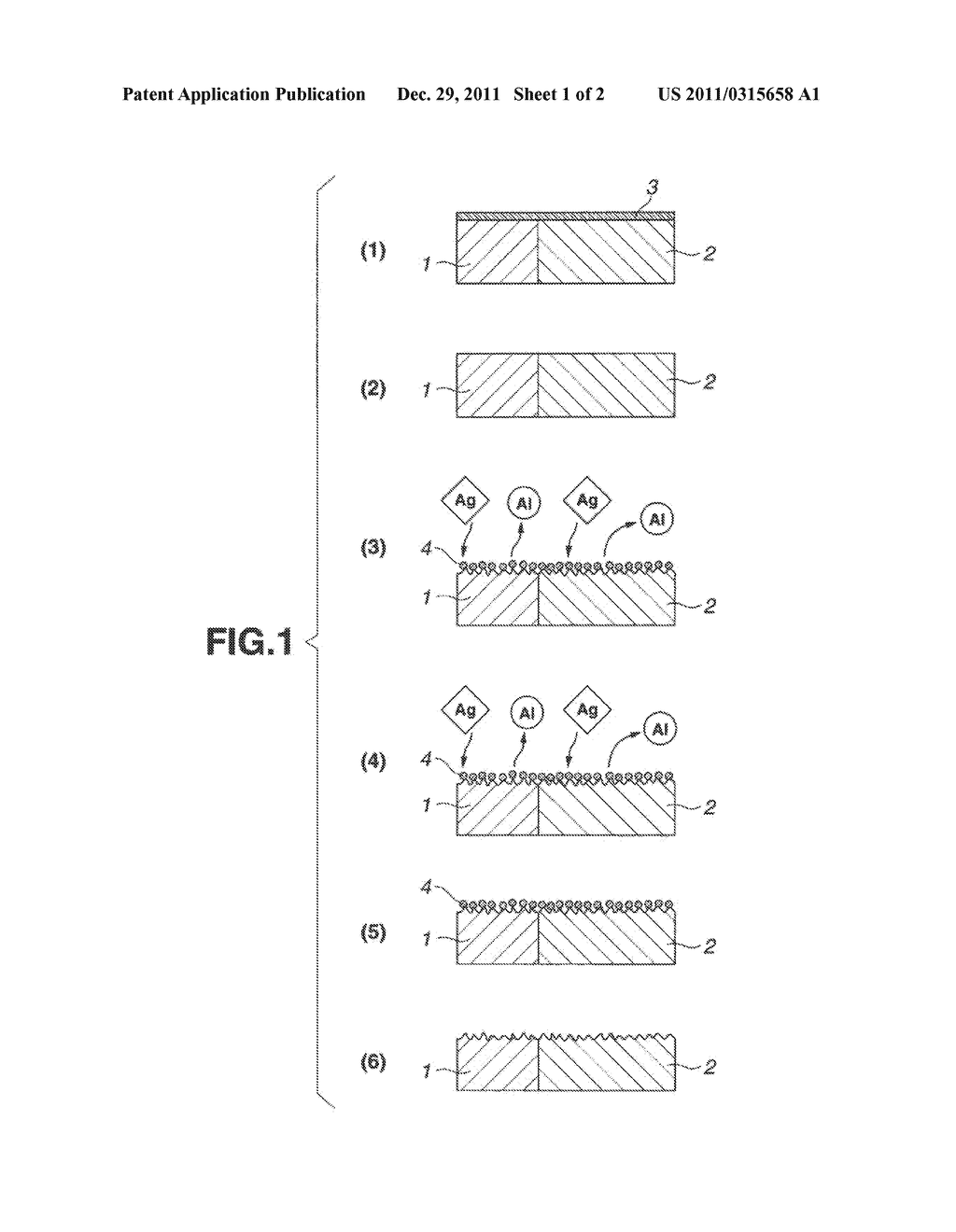 ALUMINUM OXIDE FILM REMOVER AND METHOD FOR SURFACE TREATMENT OF ALUMINUM     OR ALUMINUM ALLOY - diagram, schematic, and image 02