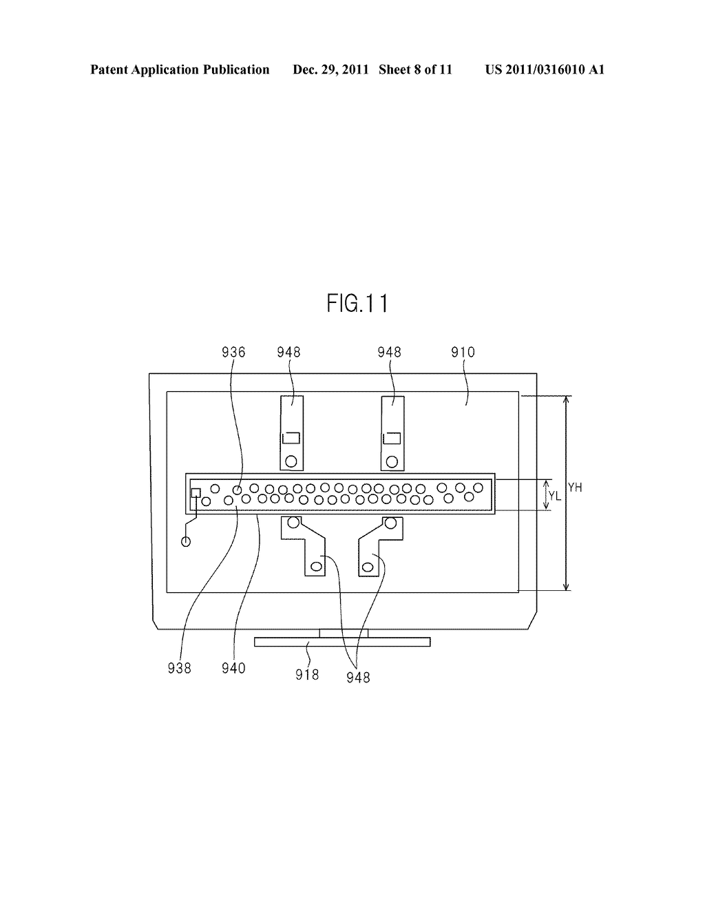 LIQUID CRYSTAL DISPLAY DEVICE AND TELEVISION SET - diagram, schematic, and image 09