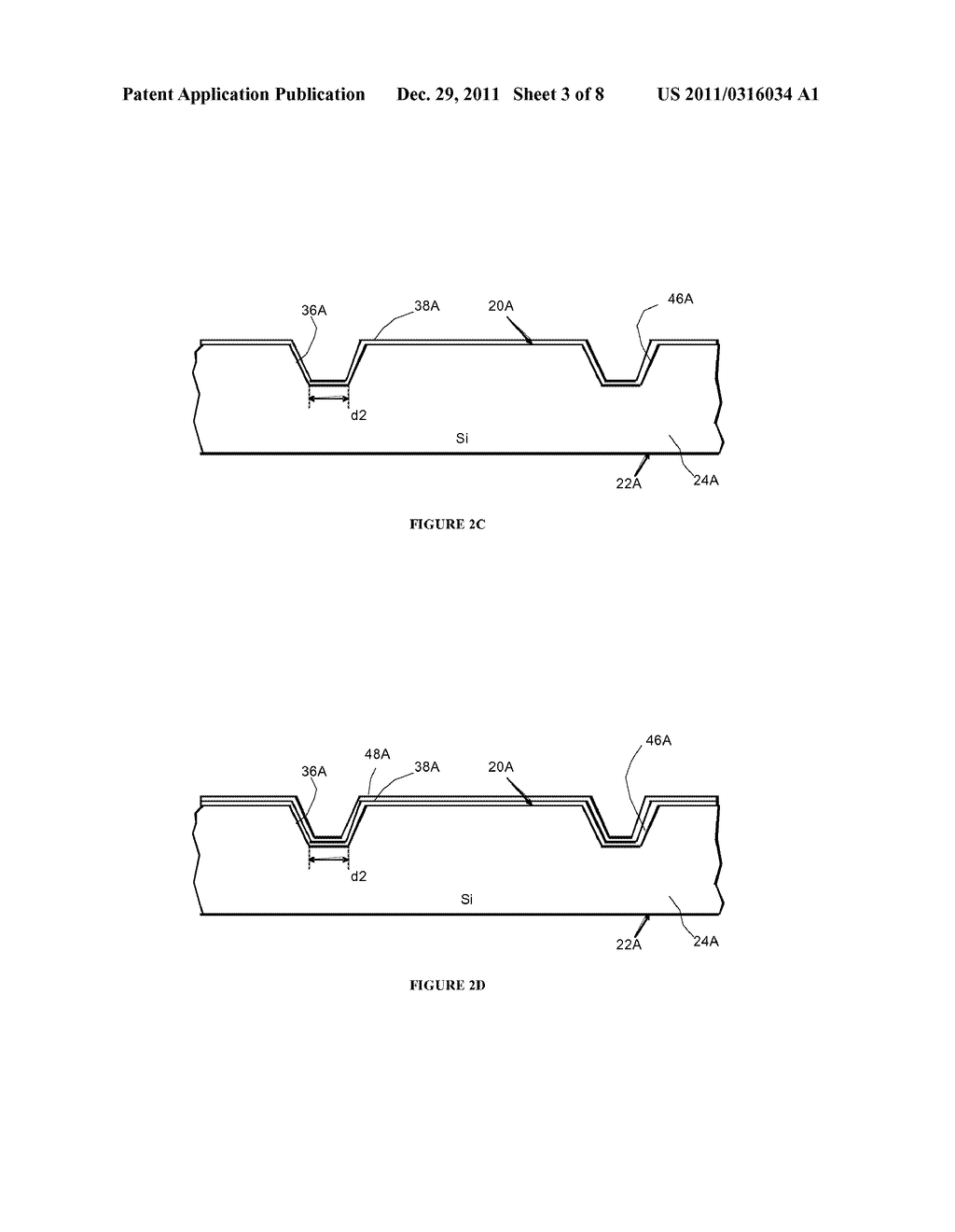 Side By Side Light Emitting Diode (LED) Having Separate Electrical And     Heat Transfer Paths And Method Of Fabrication - diagram, schematic, and image 04