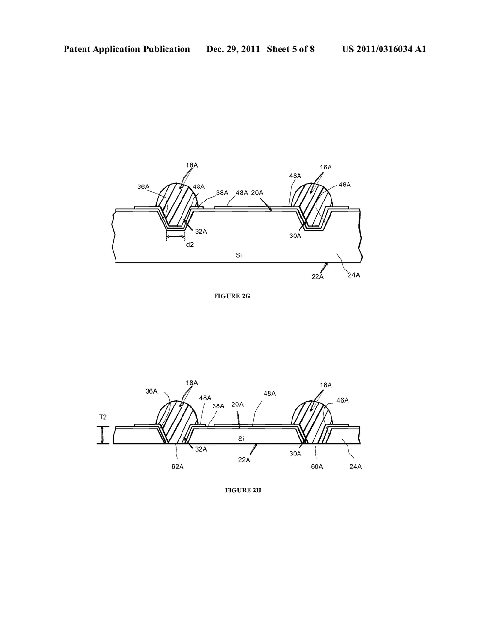 Side By Side Light Emitting Diode (LED) Having Separate Electrical And     Heat Transfer Paths And Method Of Fabrication - diagram, schematic, and image 06