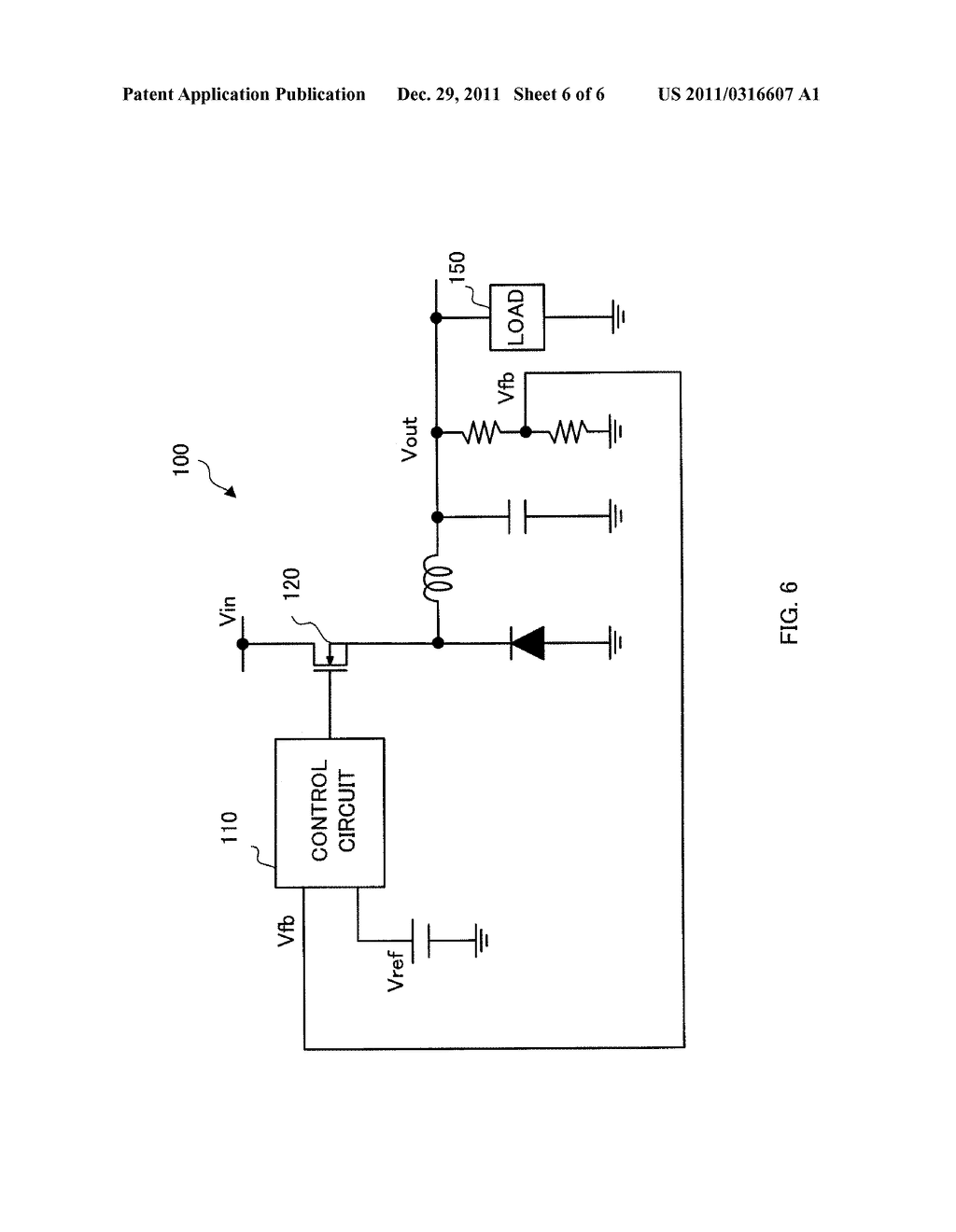 SWITCHING CONTROL CIRCUIT AND SWITCHING POWER SUPPLY CIRCUIT - diagram, schematic, and image 07