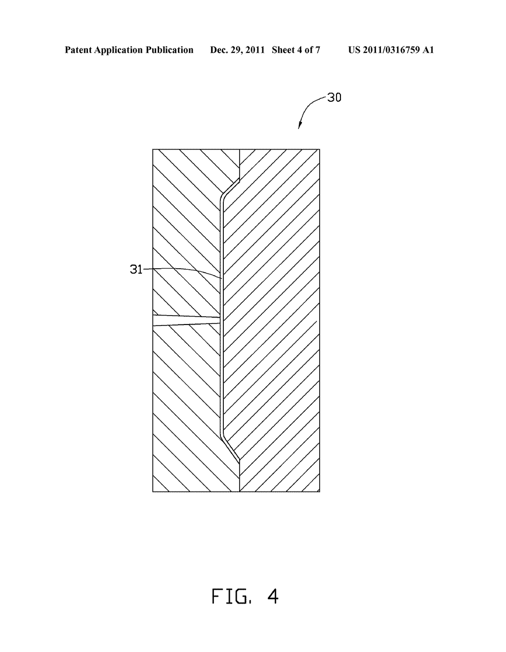 HOUSING OF PORTABLE ELECTRONIC DEVICE AND METHOD FOR MAKING THE SAME - diagram, schematic, and image 05
