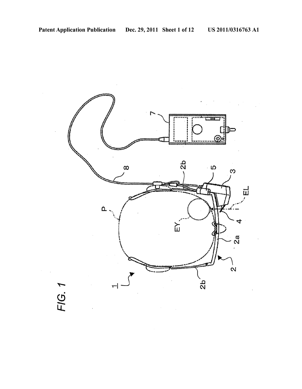 HEAD-MOUNTED DISPLAY APPARATUS, IMAGE CONTROL METHOD AND IMAGE CONTROL     PROGRAM - diagram, schematic, and image 02