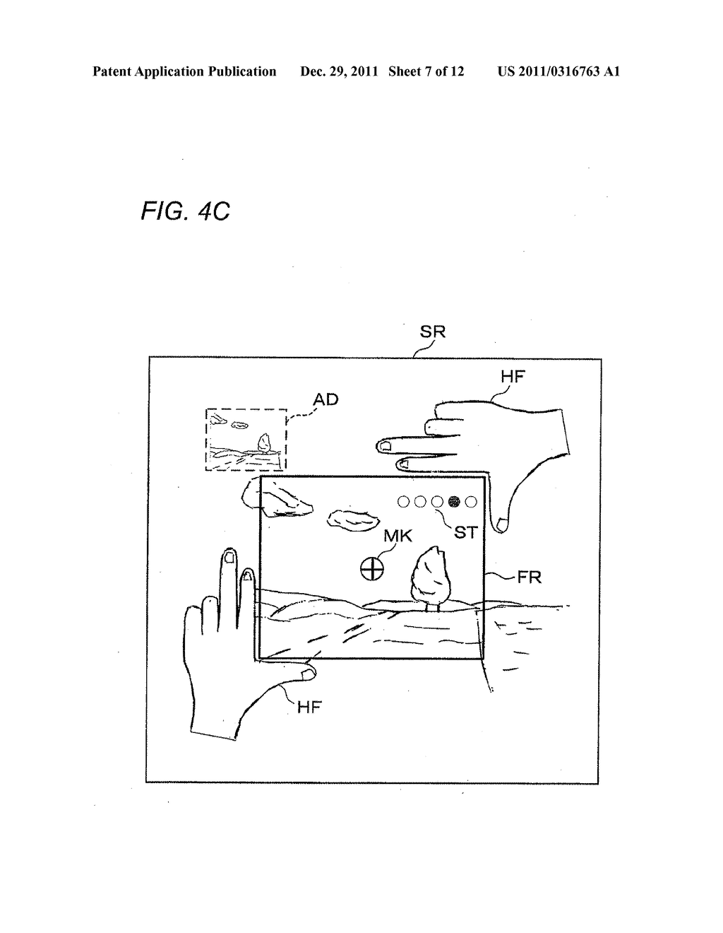 HEAD-MOUNTED DISPLAY APPARATUS, IMAGE CONTROL METHOD AND IMAGE CONTROL     PROGRAM - diagram, schematic, and image 08