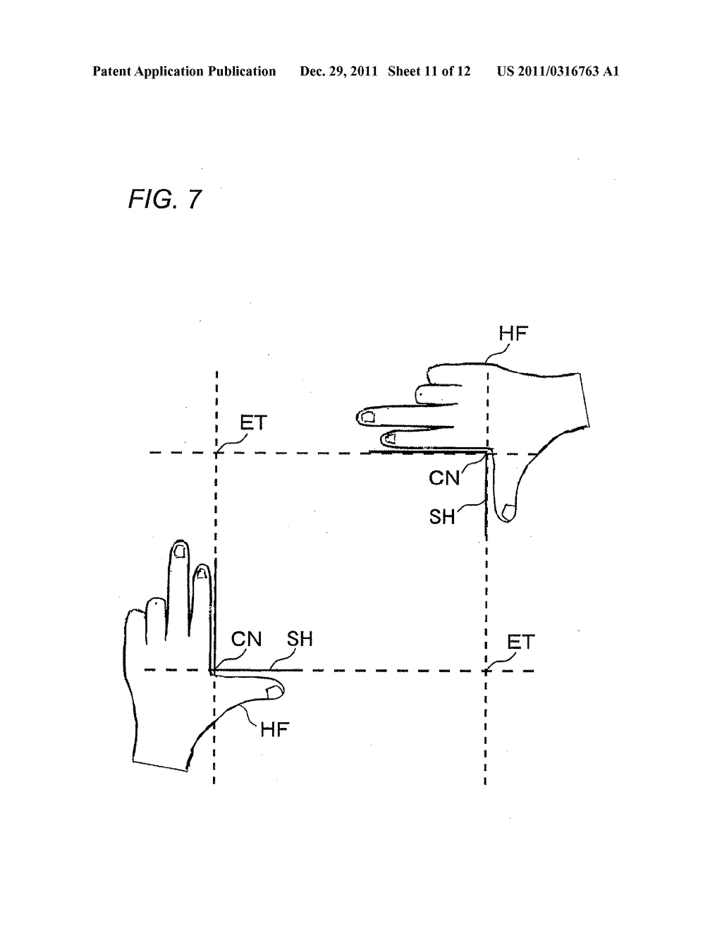 HEAD-MOUNTED DISPLAY APPARATUS, IMAGE CONTROL METHOD AND IMAGE CONTROL     PROGRAM - diagram, schematic, and image 12