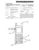 INPUT TO AN ELECTRONIC APPARATUS diagram and image