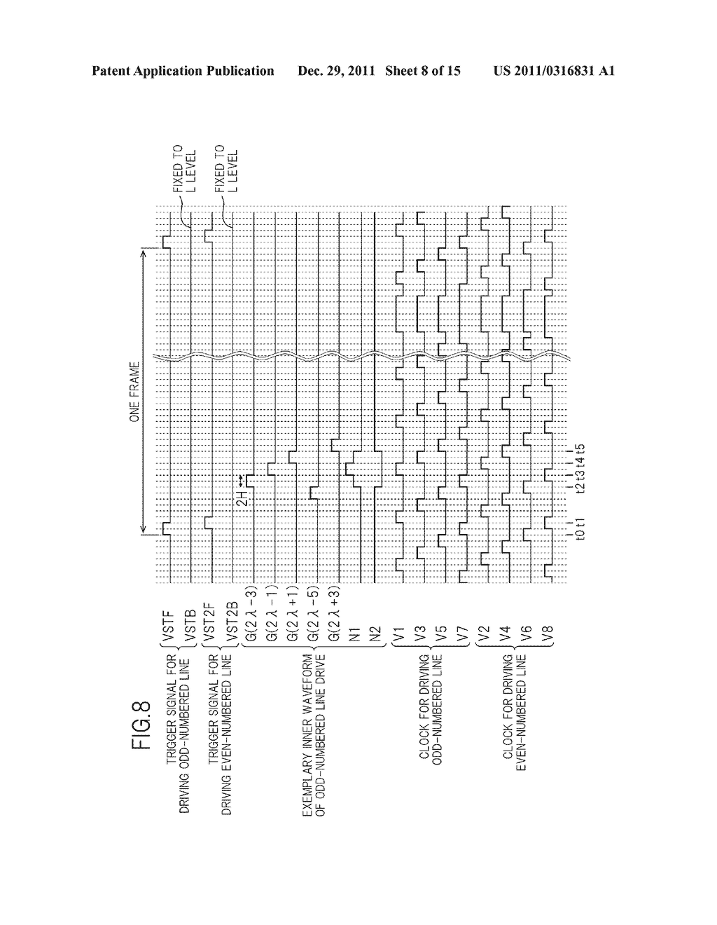 BIDIRECTIONAL SHIFT REGISTER AND IMAGE DISPLAY DEVICE USING THE SAME - diagram, schematic, and image 09