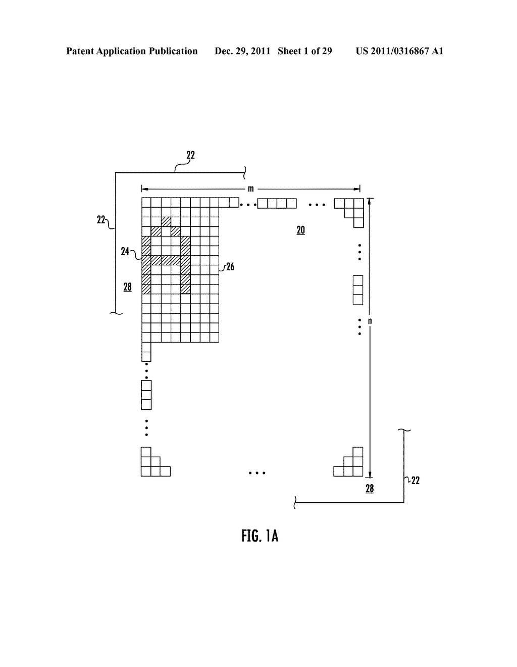 APPARATUS AND METHODS TO ACHIEVE A VARIABLE COLOR PIXEL BORDER ON A     NEGATIVE MODE SCREEN WITH A PASSIVE MATRIX DRIVE - diagram, schematic, and image 02