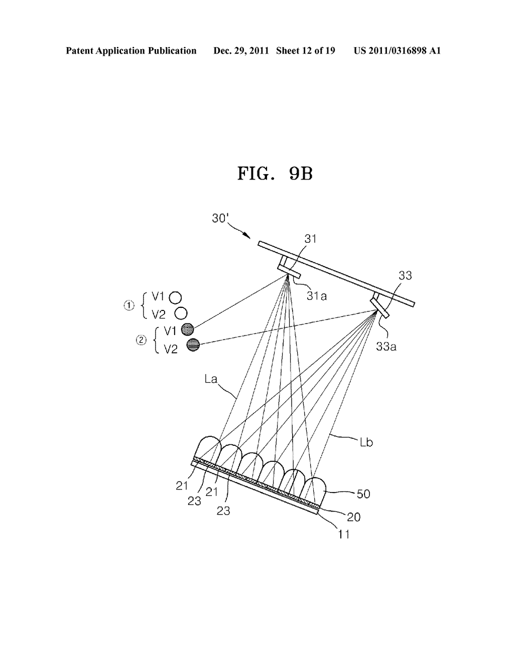 THREE DIMENSIONAL IMAGE DISPLAY APPARATUS - diagram, schematic, and image 13