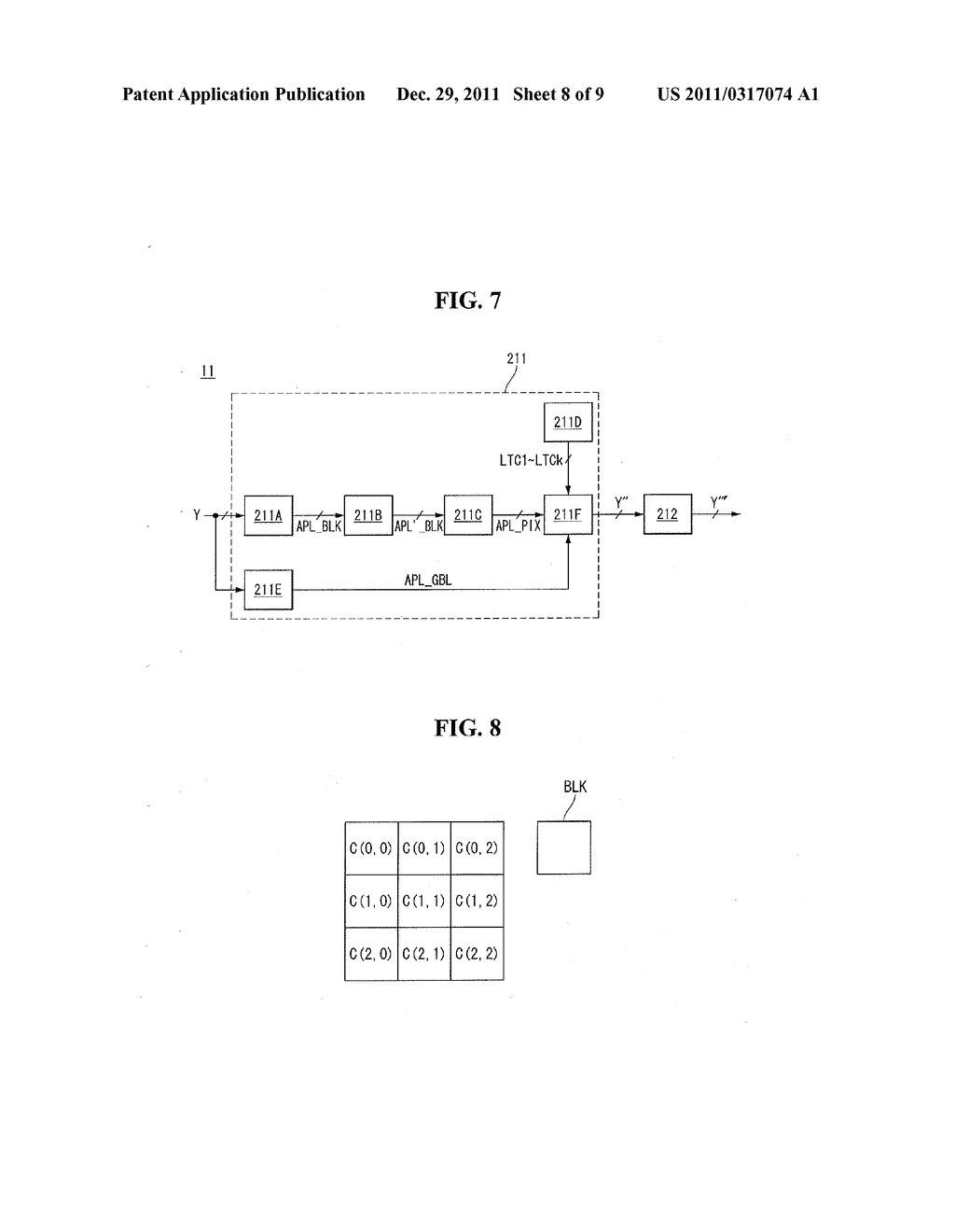 DISPLAY DEVICE AND CONTRAST ENHANCEMENT METHOD THEREOF - diagram, schematic, and image 09