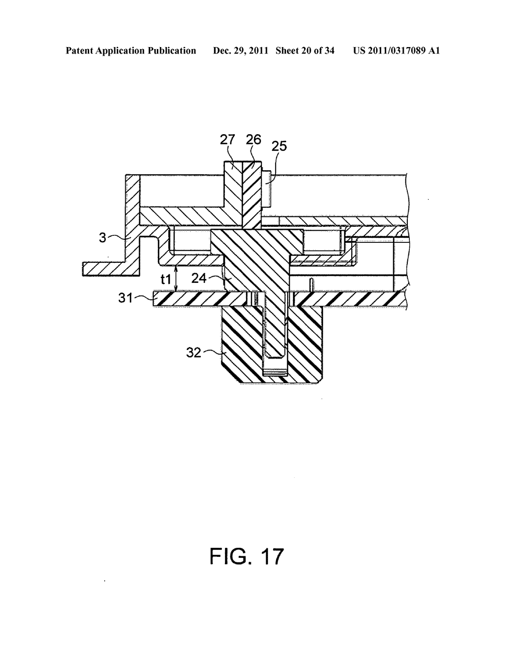 Backlight assembly for supplying electric power to a light-emitting     element via a connector and a backlight unit and a liquid crystal display     which use the backlight assembly - diagram, schematic, and image 21