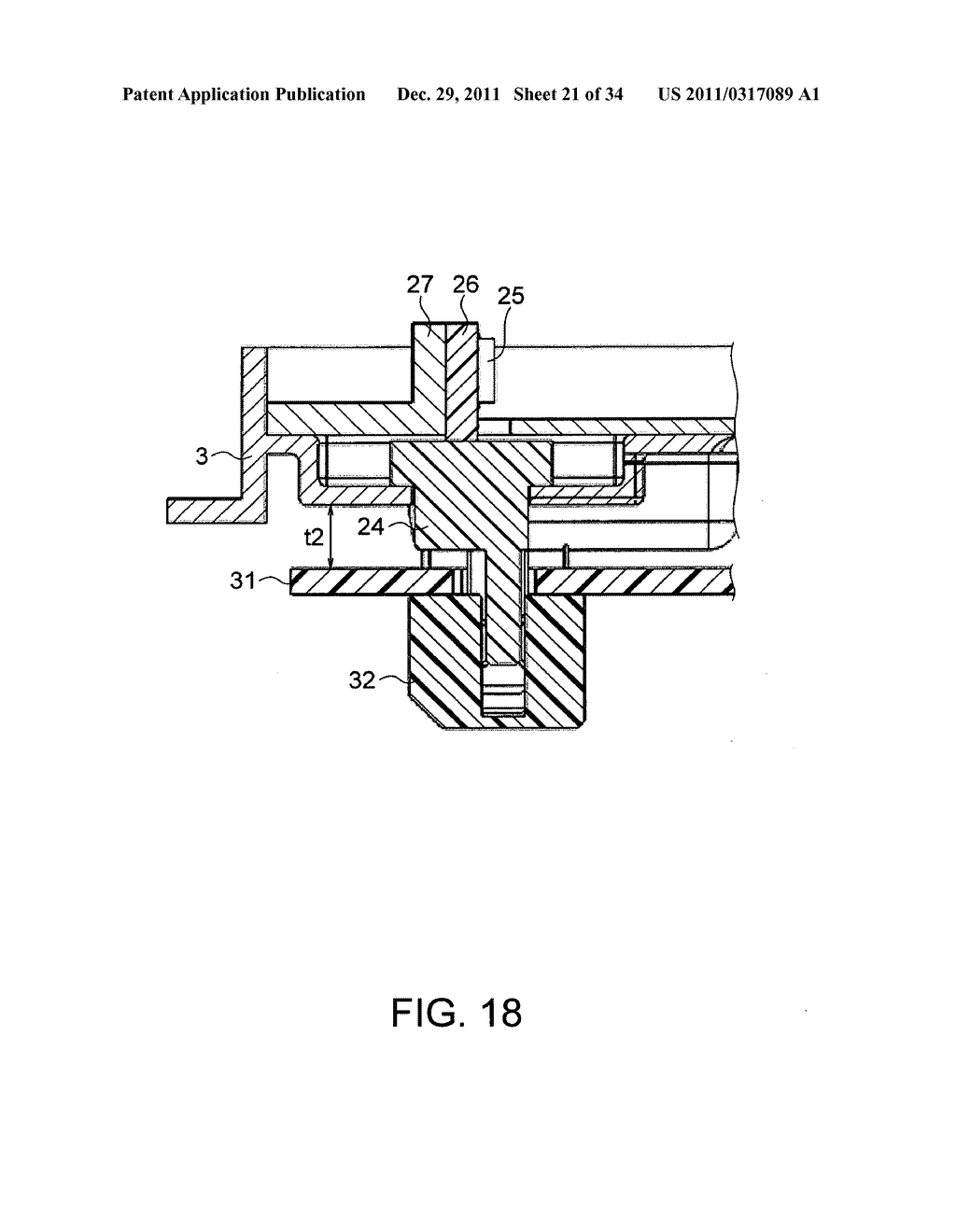 Backlight assembly for supplying electric power to a light-emitting     element via a connector and a backlight unit and a liquid crystal display     which use the backlight assembly - diagram, schematic, and image 22