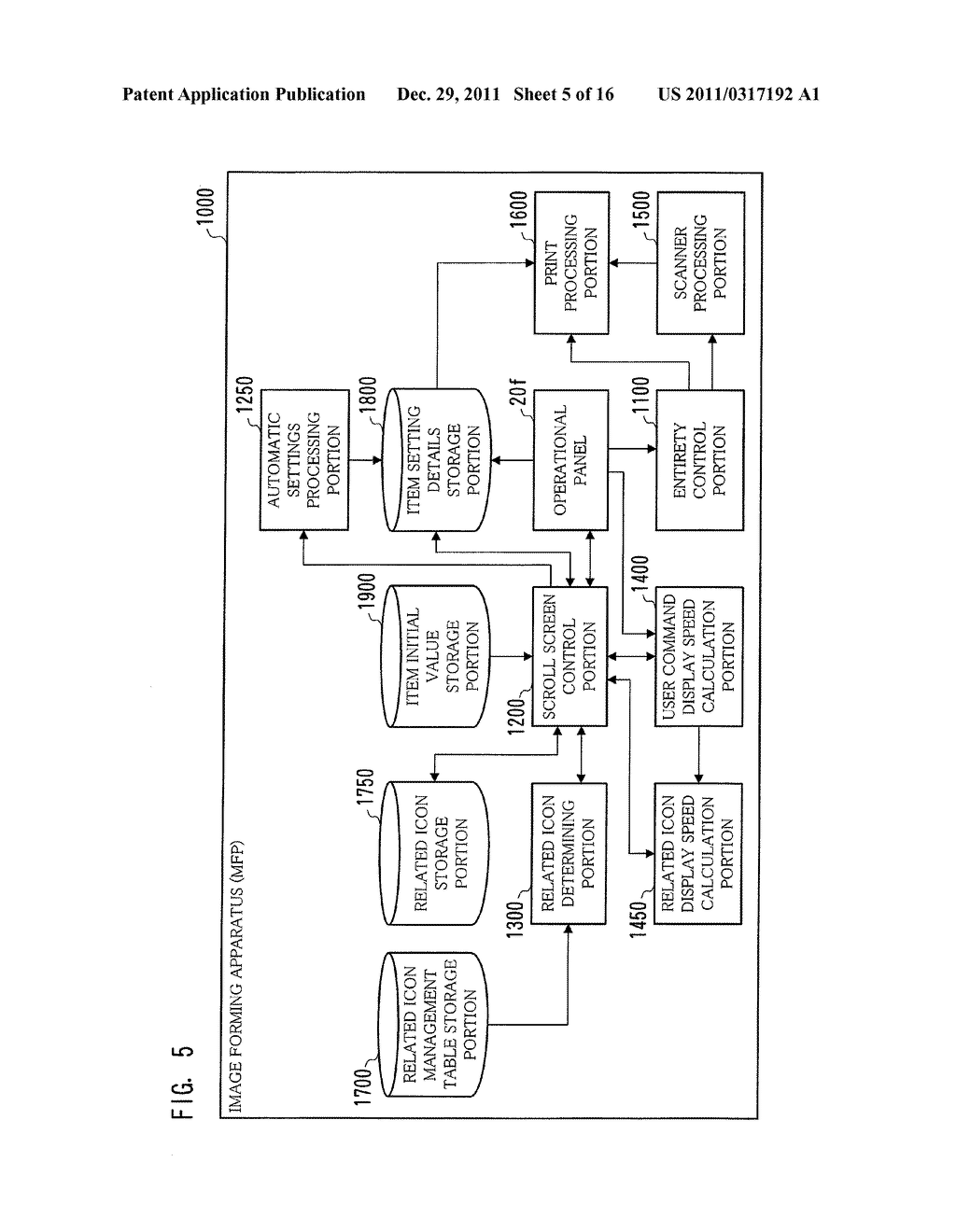 IMAGE PROCESSING APPARATUS, METHOD FOR DISPLAYING INTERFACE SCREEN, AND     COMPUTER-READABLE STORAGE MEDIUM FOR COMPUTER PROGRAM - diagram, schematic, and image 06