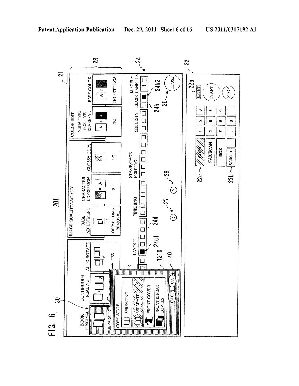 IMAGE PROCESSING APPARATUS, METHOD FOR DISPLAYING INTERFACE SCREEN, AND     COMPUTER-READABLE STORAGE MEDIUM FOR COMPUTER PROGRAM - diagram, schematic, and image 07