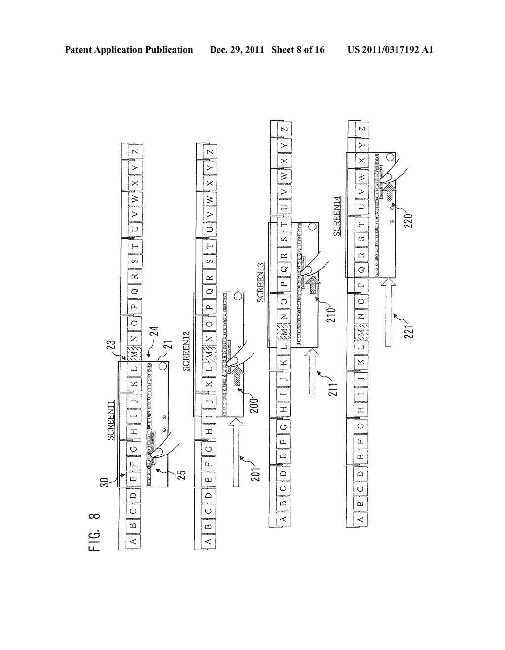 IMAGE PROCESSING APPARATUS, METHOD FOR DISPLAYING INTERFACE SCREEN, AND     COMPUTER-READABLE STORAGE MEDIUM FOR COMPUTER PROGRAM - diagram, schematic, and image 09