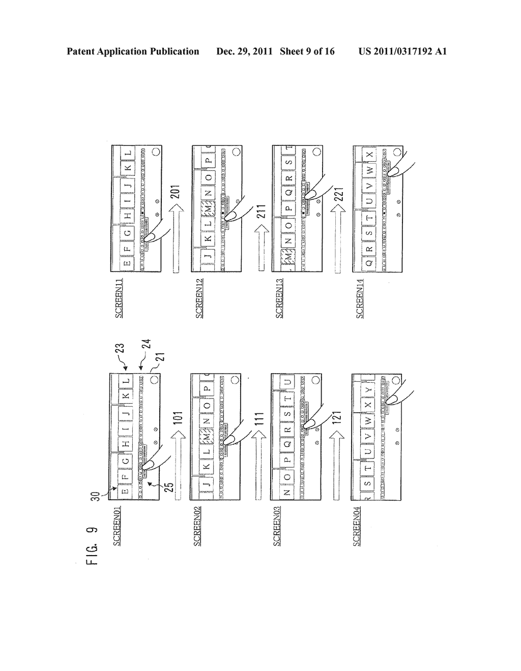 IMAGE PROCESSING APPARATUS, METHOD FOR DISPLAYING INTERFACE SCREEN, AND     COMPUTER-READABLE STORAGE MEDIUM FOR COMPUTER PROGRAM - diagram, schematic, and image 10