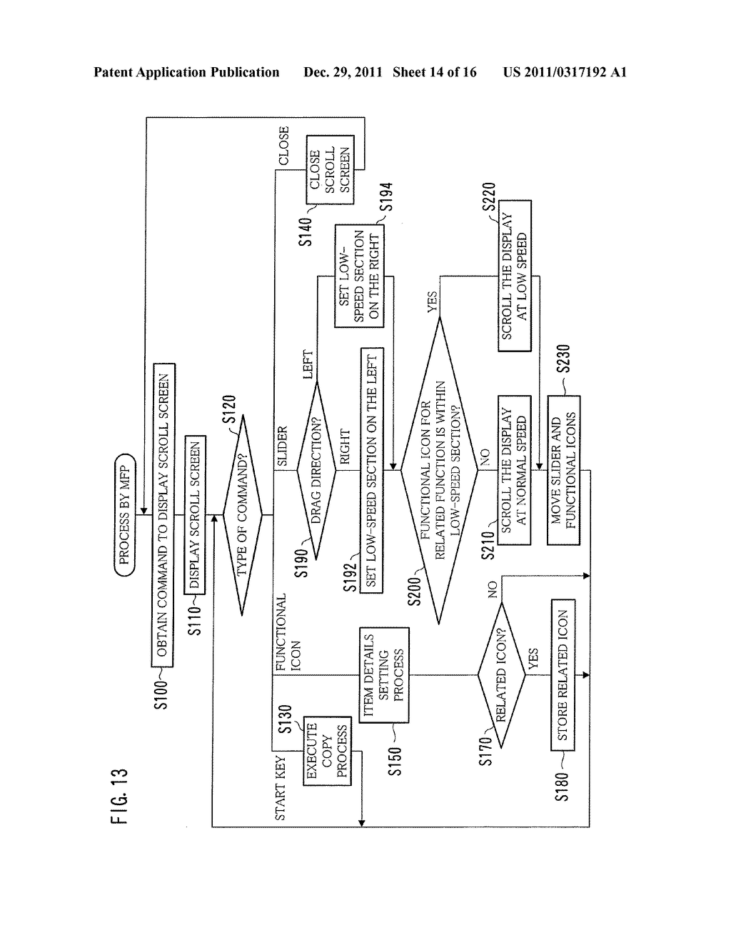 IMAGE PROCESSING APPARATUS, METHOD FOR DISPLAYING INTERFACE SCREEN, AND     COMPUTER-READABLE STORAGE MEDIUM FOR COMPUTER PROGRAM - diagram, schematic, and image 15