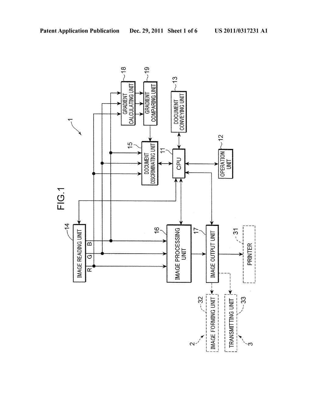 IMAGE PROCESSING APPARATUS AND METHOD FOR DISCRIMINATING WHETHER DOCUMENT     IS COLOR DOCUMENT OR BLACK AND WHITE DOCUMENT, IMAGE FORMING APPARATUS     AND FACSIMILE MACHINE INCLUDING THE IMAGE PROCESSING APPARATUS AND A     COMPUTER READABLE RECORDING MEDIUM STORING IMAGE PROCESSING PROGRAM - diagram, schematic, and image 02