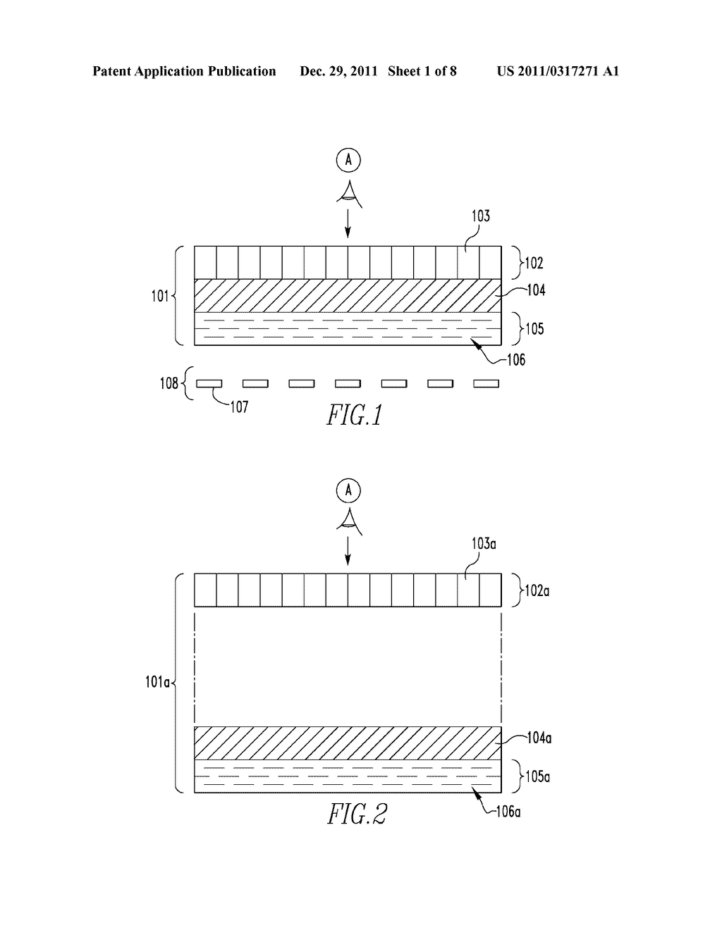 OPTICALLY VARIABLE DEVICES, SECURITY DEVICE AND ARTICLE EMPLOYING SAME,     AND ASSOCIATED METHOD OF CREATING SAME - diagram, schematic, and image 02