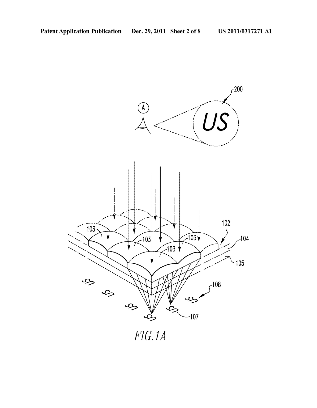 OPTICALLY VARIABLE DEVICES, SECURITY DEVICE AND ARTICLE EMPLOYING SAME,     AND ASSOCIATED METHOD OF CREATING SAME - diagram, schematic, and image 03