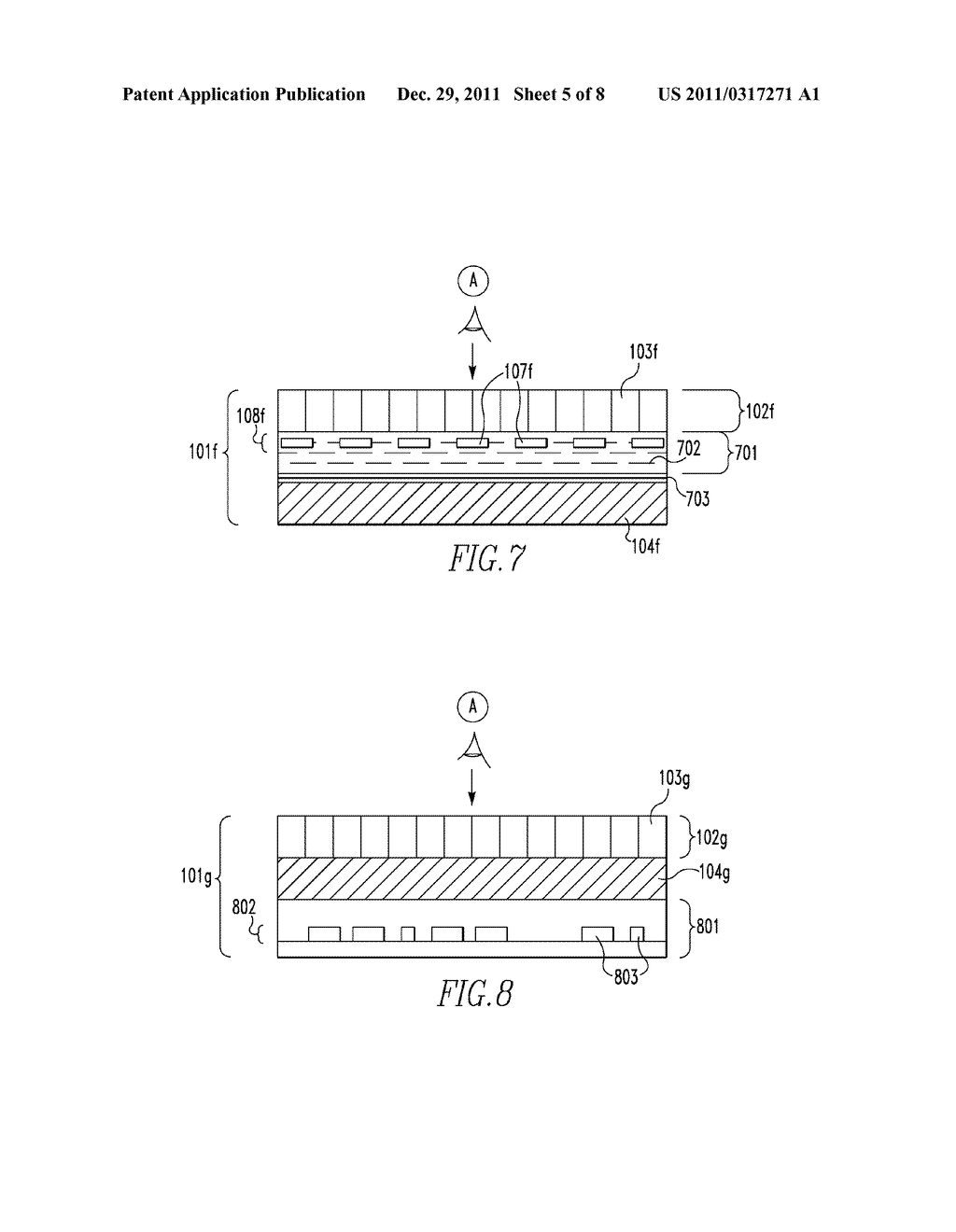 OPTICALLY VARIABLE DEVICES, SECURITY DEVICE AND ARTICLE EMPLOYING SAME,     AND ASSOCIATED METHOD OF CREATING SAME - diagram, schematic, and image 06