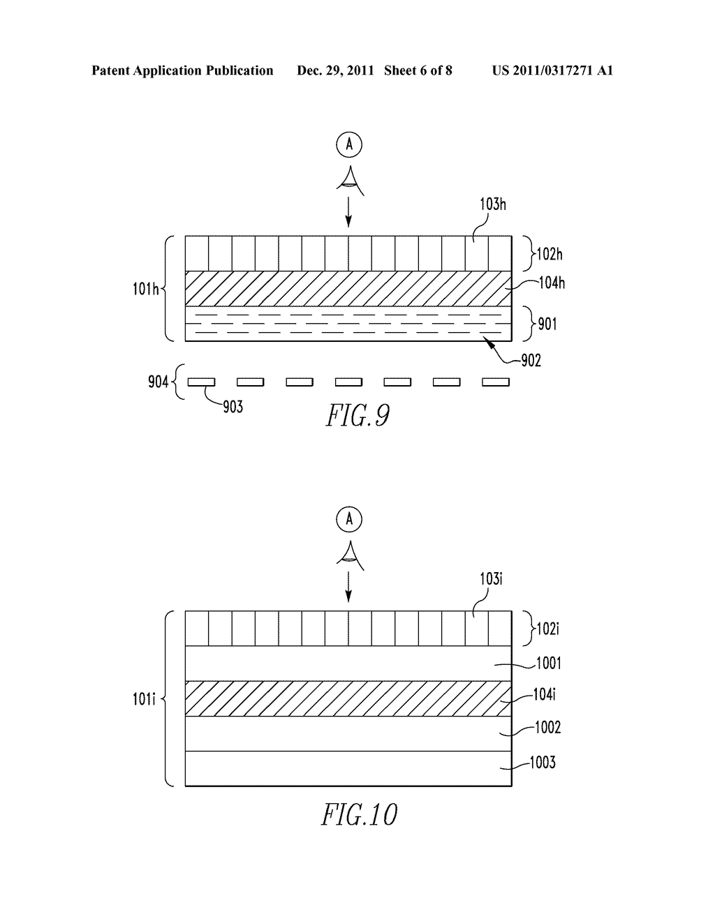 OPTICALLY VARIABLE DEVICES, SECURITY DEVICE AND ARTICLE EMPLOYING SAME,     AND ASSOCIATED METHOD OF CREATING SAME - diagram, schematic, and image 07