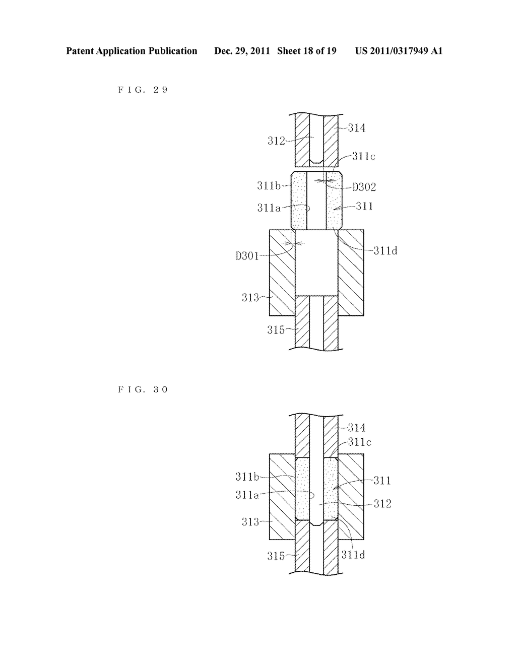 SINTERED METALLIC BEARING AND FLUID DYNAMIC BEARING DEVICE EQUIPPED WITH     THE BEARING - diagram, schematic, and image 19