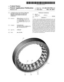 TANDEM ANGULAR CONTACT ROLLER BEARING WITH CONCAVE ROLLER PROFILE FOR     IMPROVED ROLLER GUIDANCE diagram and image