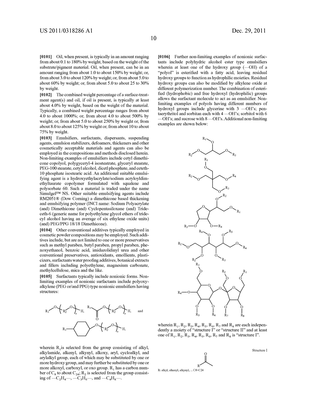 SPF ENHANCED EXTENDED COLOR BULK POWDERS AND METHODS OF MAKING THEREOF - diagram, schematic, and image 22
