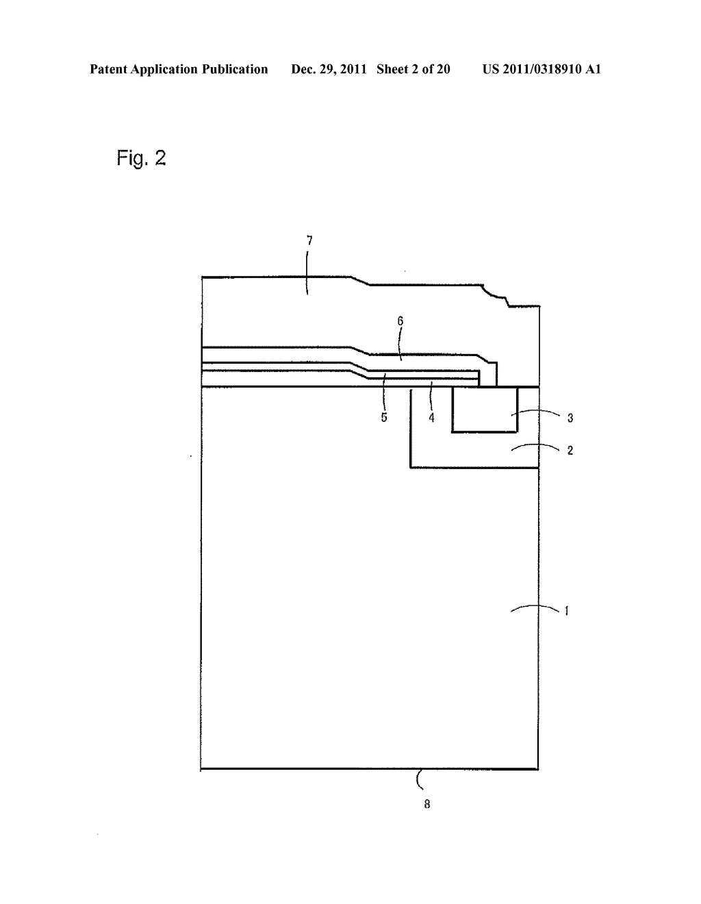 METHOD OF MANUFACTURING A SEMICONDUCTOR DEVICE - diagram, schematic, and image 03