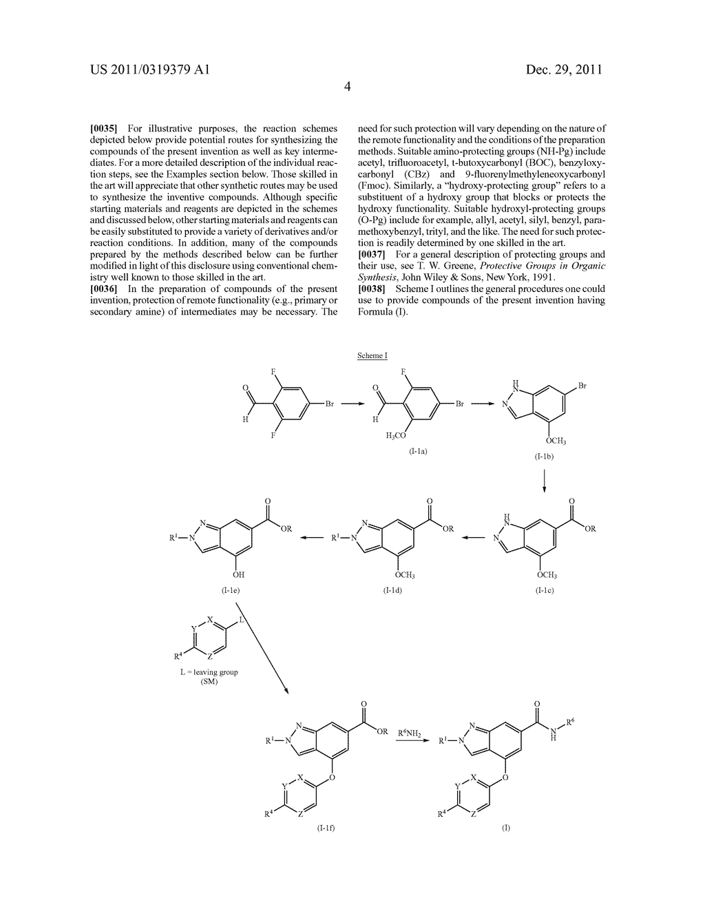 Substituted Indazole Amides And Their Use As Glucokinase Activators - diagram, schematic, and image 05