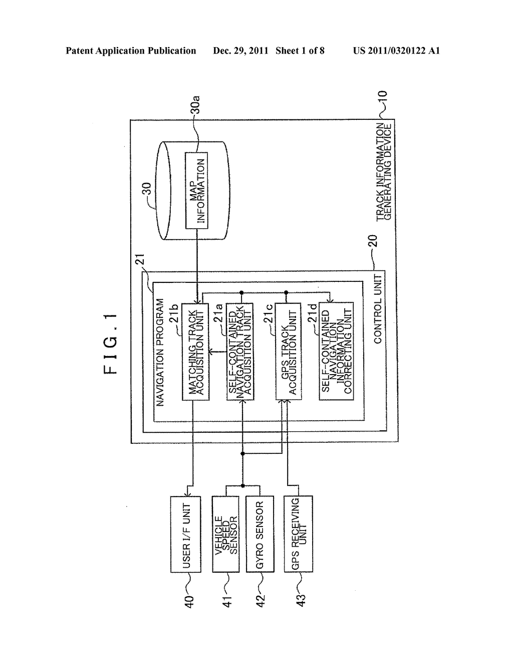 TRACK INFORMATION GENERATING DEVICE, TRACK INFORMATION GENERATING METHOD,     AND COMPUTER-READABLE STORAGE MEDIUM - diagram, schematic, and image 02