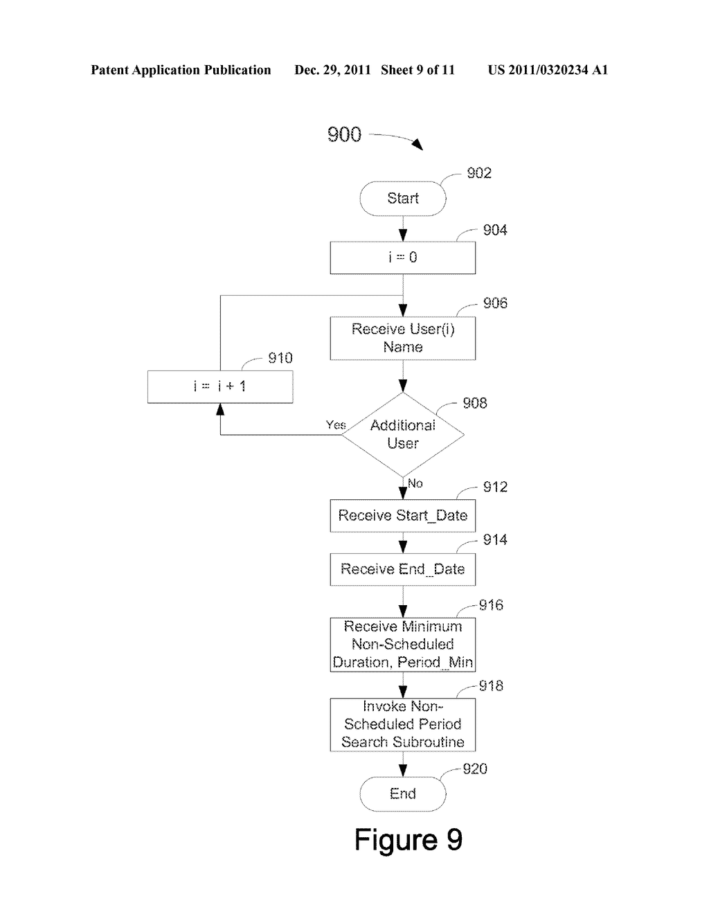 System, Method, and Computer Readable Medium for Management of an     Electronic Calendar - diagram, schematic, and image 10