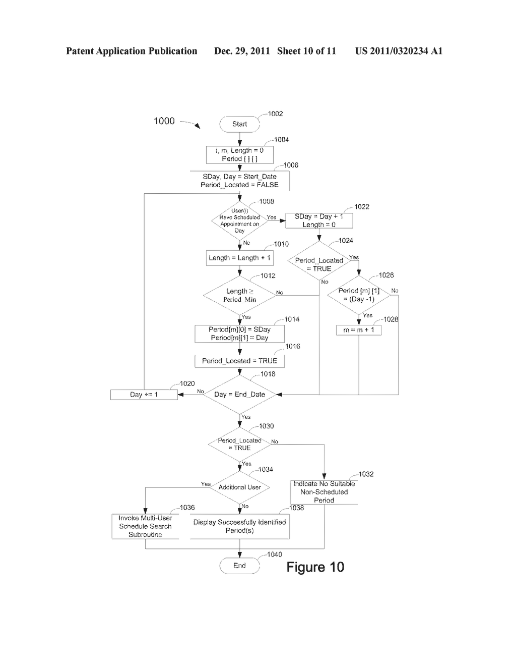 System, Method, and Computer Readable Medium for Management of an     Electronic Calendar - diagram, schematic, and image 11