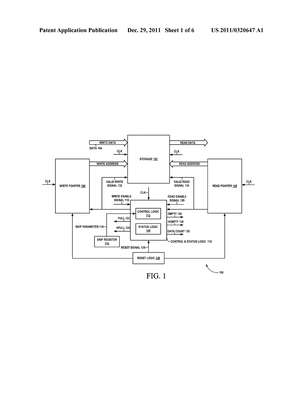 SKIP BASED CONTROL LOGIC FOR FIRST IN FIRST OUT BUFFER - diagram, schematic, and image 02