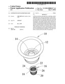 FLOWER POT HAVING REMOVABLE BASE diagram and image