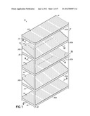 CONVERTIBLE MULTIFUNCTIONAL SHELVING diagram and image
