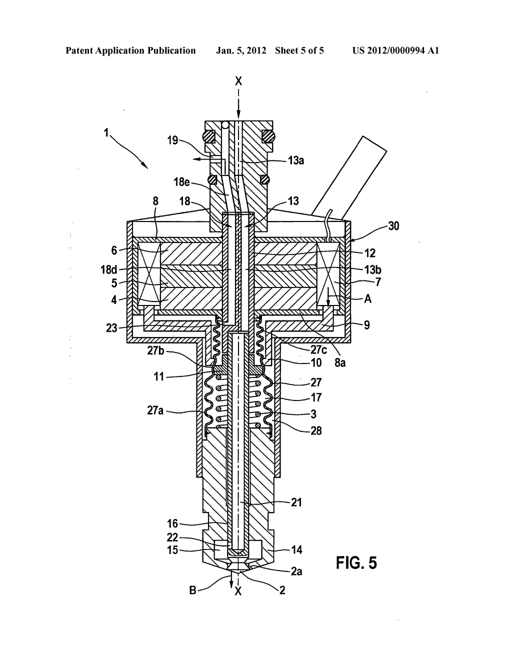DEVICE FOR INJECTING FUEL - diagram, schematic, and image 06
