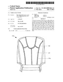 VEHICLE SEAT COVER diagram and image