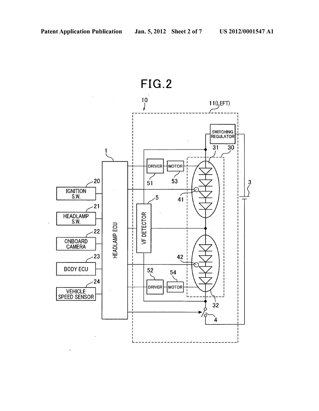 Lighting control apparatus with diagnosis and warning feature - diagram, schematic, and image 03