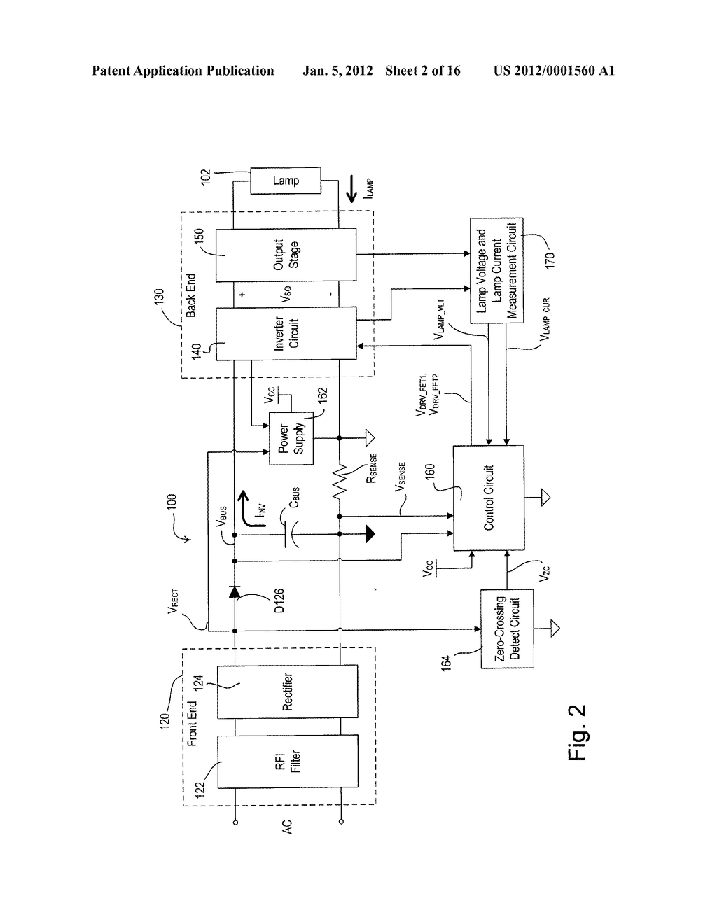 Electronic Ballast Having A Partially Self Oscillating Inverter Choke Circuit Diagram Schematic And Image 03