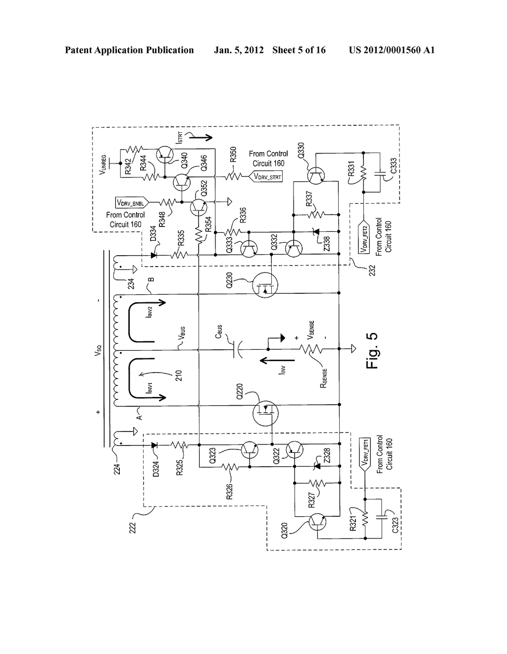 Electronic Ballast Having A Partially Self Oscillating Inverter Choke Circuit Diagram Schematic And Image 06