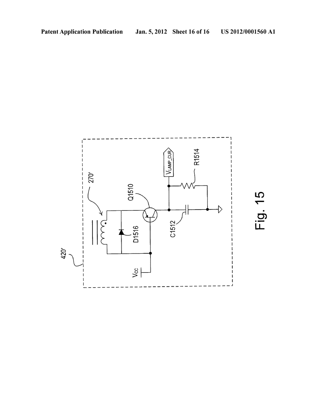 electronic ballast having a partially self oscillating inverter