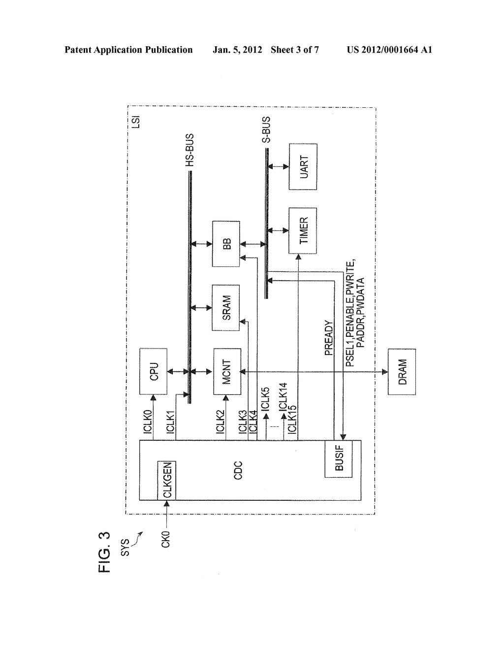 CLOCK DIVIDER CIRCUIT AND SYSTEM LSI HAVING SAME - diagram, schematic, and image 04