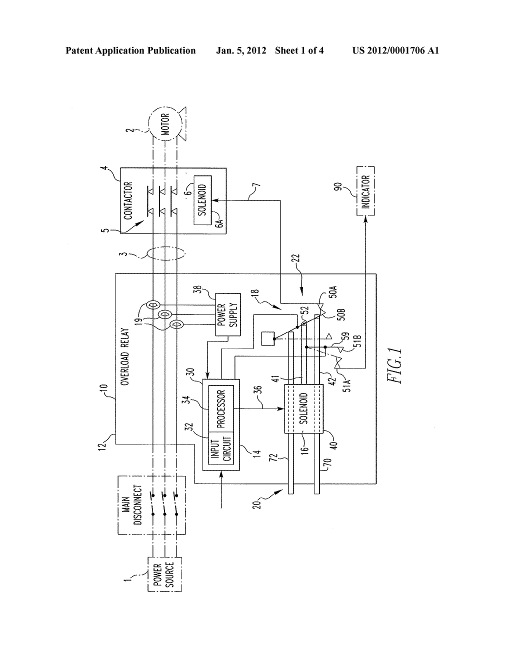 Electronic Overload Relay Switch Actuation Diagram Schematic And Circuit Image 02