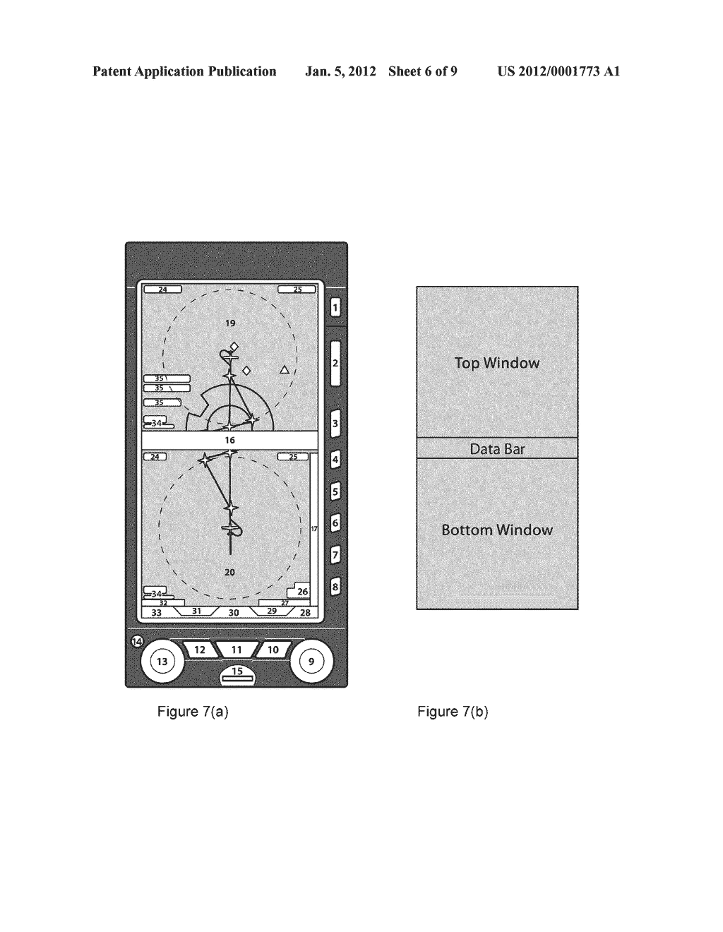 AVIONICS DEVICE, SYSTEMS AND METHODS OF DISPLAY - diagram, schematic, and image 07
