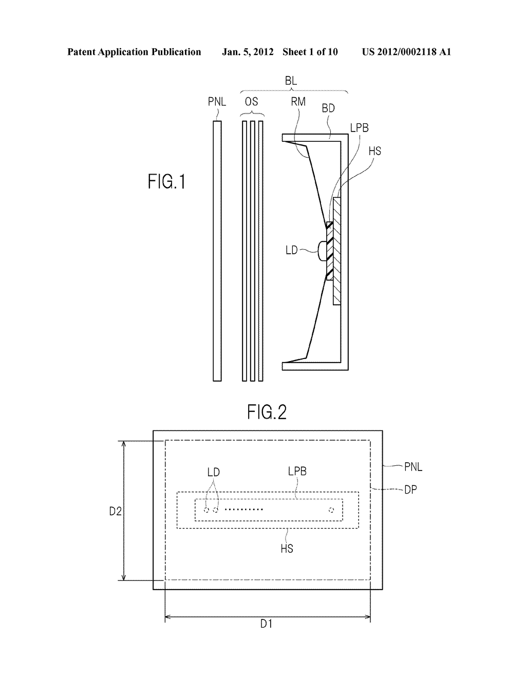 LIQUID CRYSATL DISPLAY DEVICE AND TELEVISION SET - diagram, schematic, and image 02