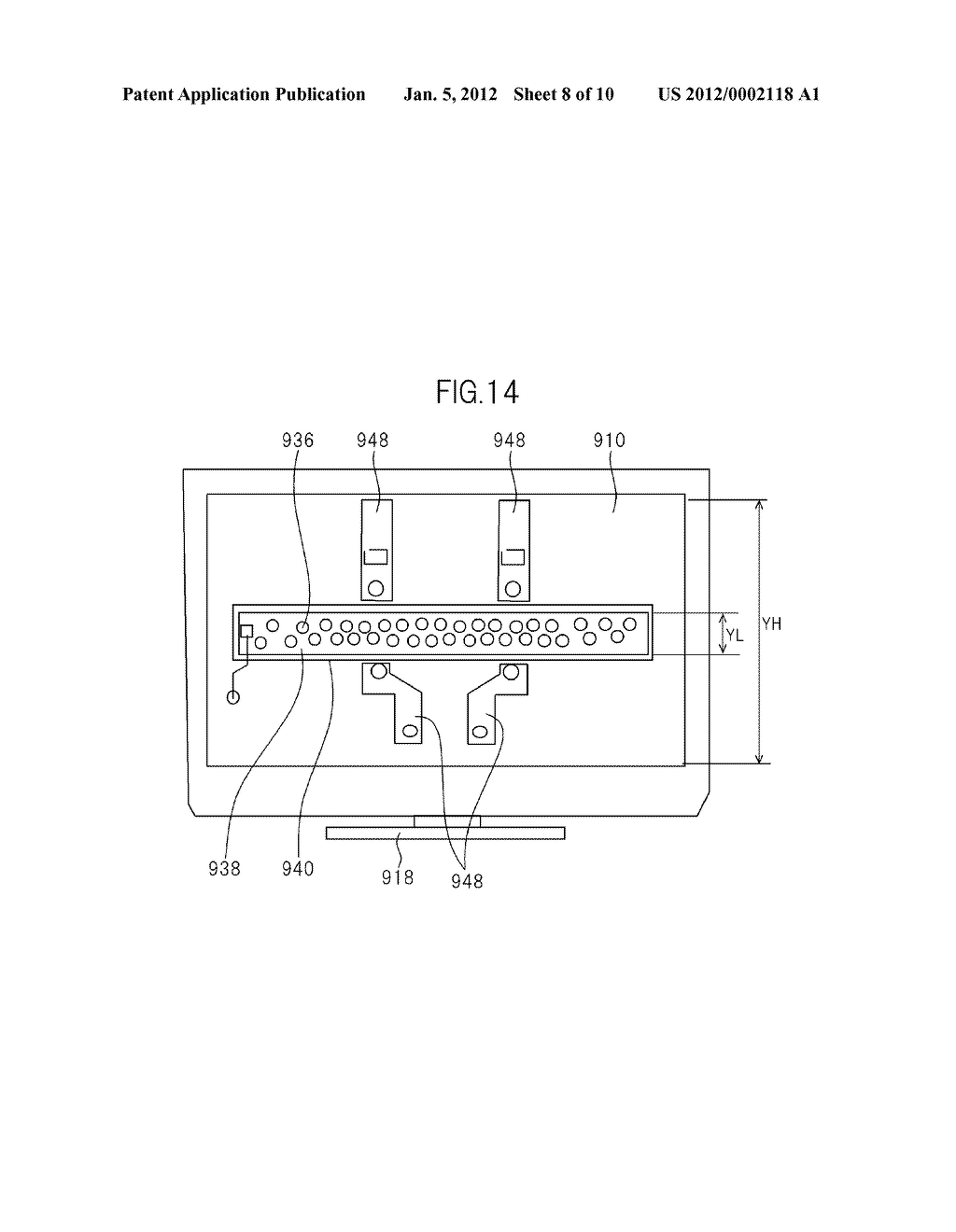 LIQUID CRYSATL DISPLAY DEVICE AND TELEVISION SET - diagram, schematic, and image 09