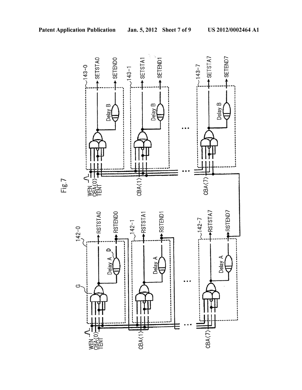SEMICONDUCTOR DEVICE EQUIPPED WITH A PLURALITY OF MEMORY BANKS AND TEST     METHOD OF THE SEMICONDUCTOR DEVICE - diagram, schematic, and image 08